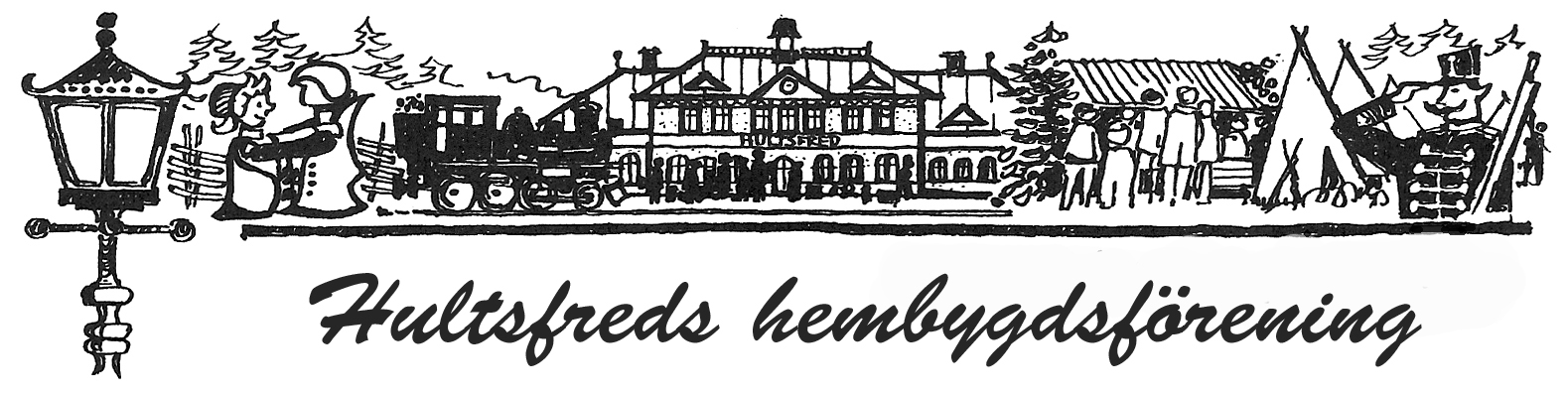 Hultsfreds Hembygdsförening Logotyp